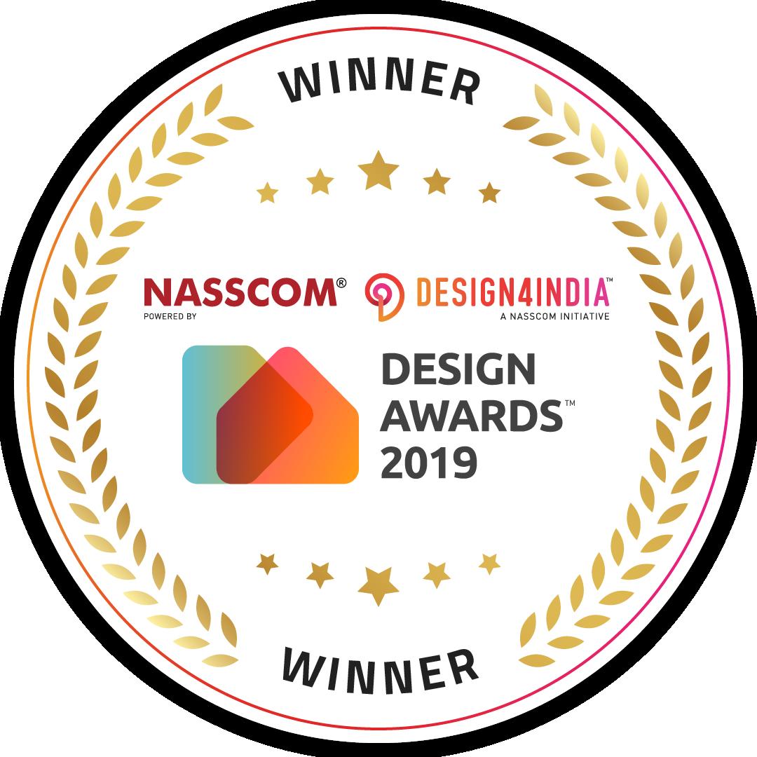 nasscom design4india award winners 2019