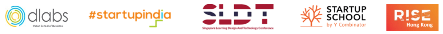 startupindia, singapore learning design and technology conference, y-combinator startup school, RISE conference HK, isb dlabs edurise 2021
